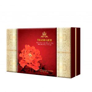 hop 6 bánh hoa phú quý đẹp , món quà biếu trung thu tuyệt vời